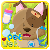 Pet Vet Animal Dressup & Bath