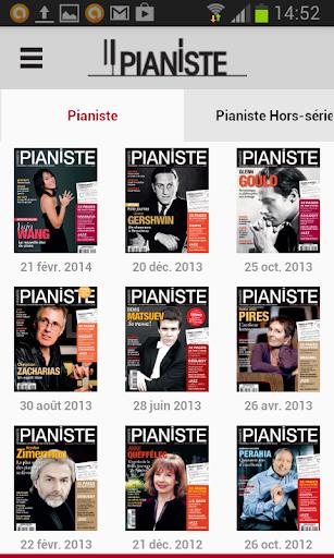 Pianiste - Magazine