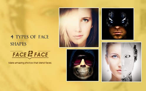 Face2Face-funny face effects- screenshot thumbnail