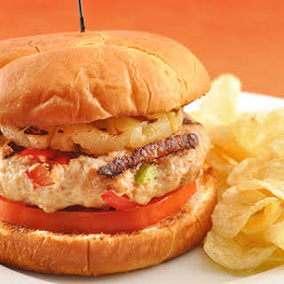 Sweet and Sour Chicken Burgers.