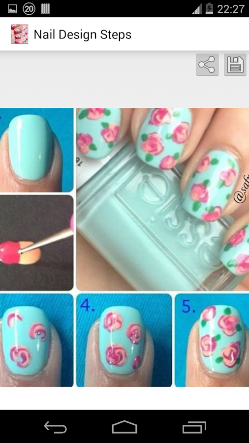 Nails Step by Step Tutorial - screenshot