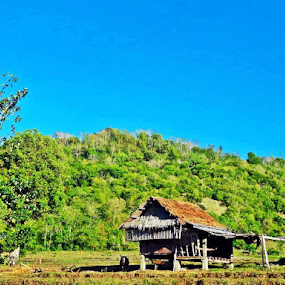Nipa huts by Kenneth  Decado - Landscapes Mountains & Hills