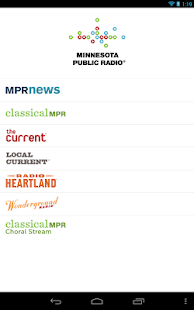 MPR Radio- screenshot thumbnail