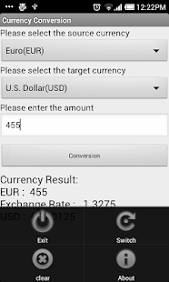 Currency Conversion - screenshot thumbnail