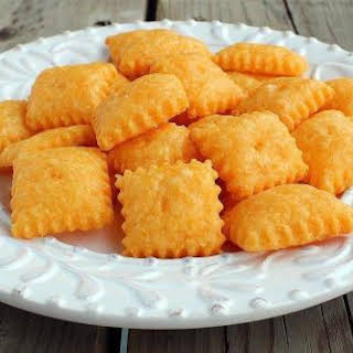 Homemade Cheez-Its.