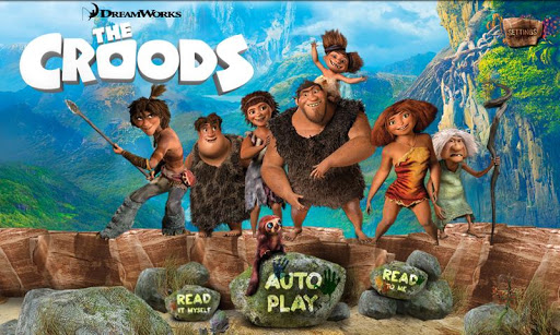 The Croods Movie Storybook
