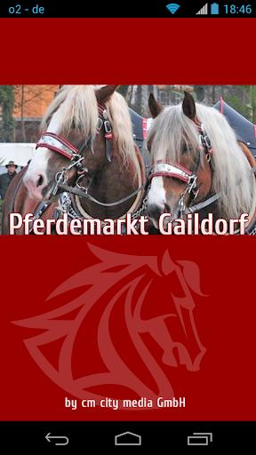 Pferdemarkt Gaildorf