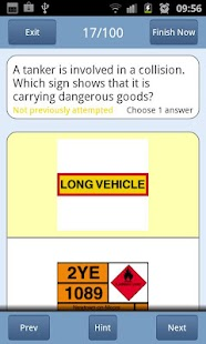 PCV Theory Test UK Lite- screenshot thumbnail