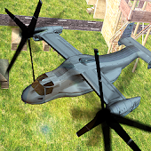 Vertical takeoff battle game