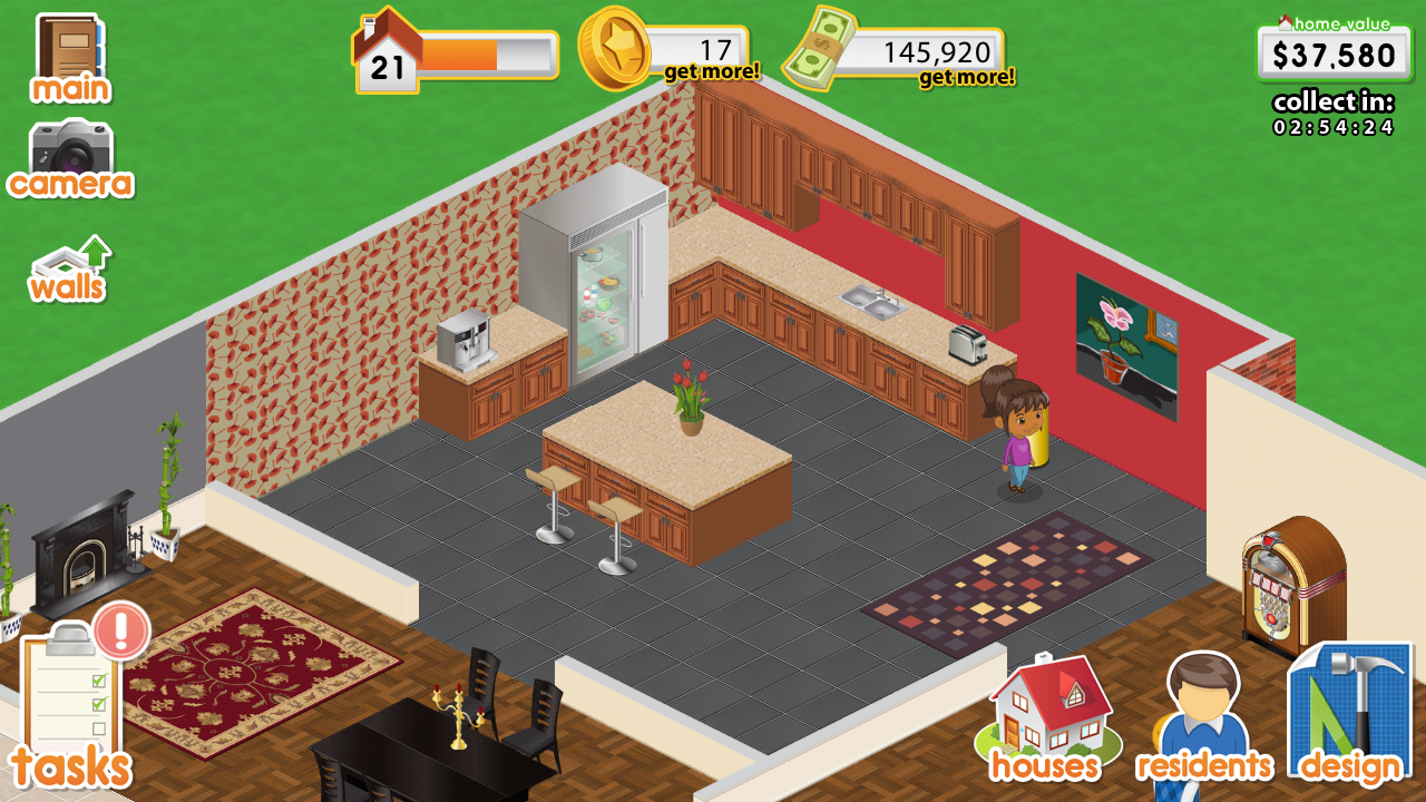 design this home screenshot - Home Design Game