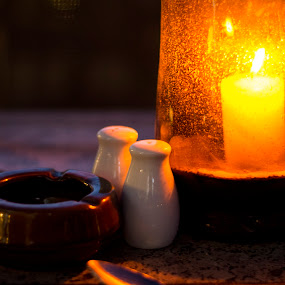 by Titus Criste - Artistic Objects Cups, Plates & Utensils ( dinner, candle, d5200, night, nikon,  )
