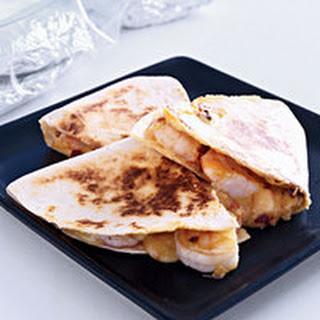 Cheesy Shrimp Tortillas.