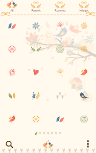 autumn leaves Dodol Theme screenshot 2