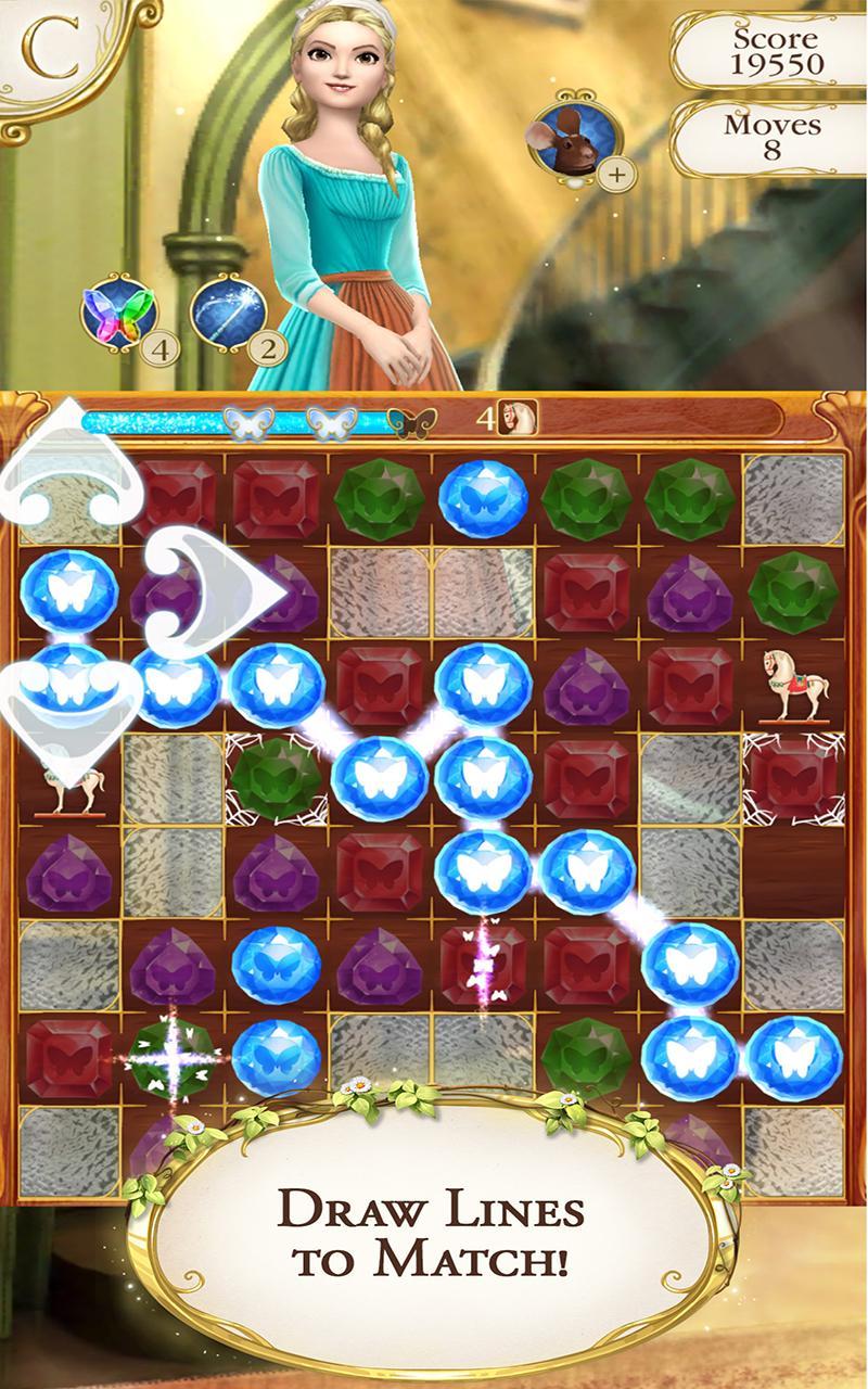 Cinderella Free Fall screenshot #1