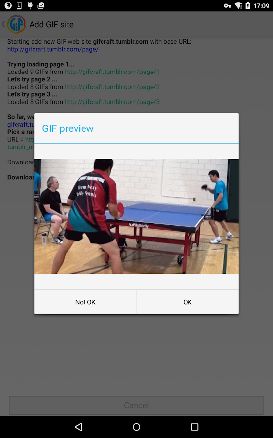 Gif Player - screenshot