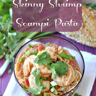 Skinny Shrimp Scampi Pasta With a Kick