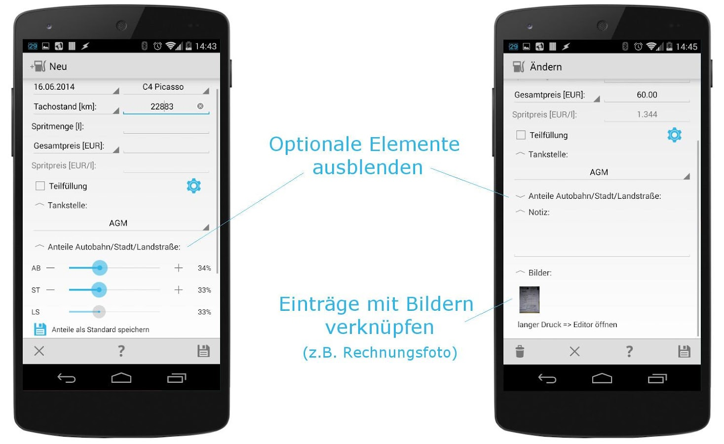 autokosten komplett demo android apps auf google play. Black Bedroom Furniture Sets. Home Design Ideas
