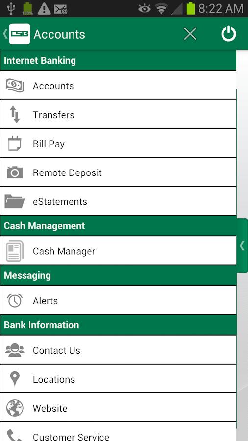 The Commercial & Savings Bank - screenshot