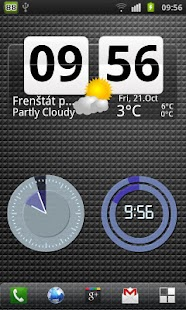 Make Your Clock Widget- screenshot thumbnail