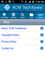 ACM TechNews - screenshot thumbnail