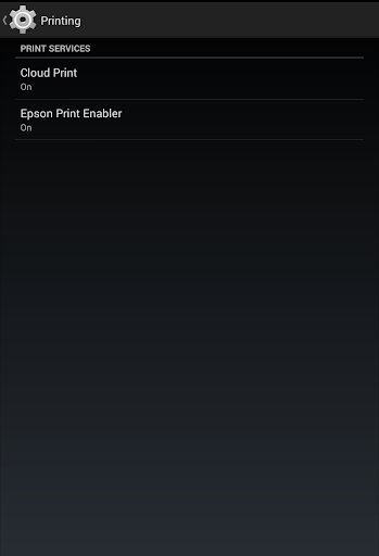 Epson Print Enabler Screenshot