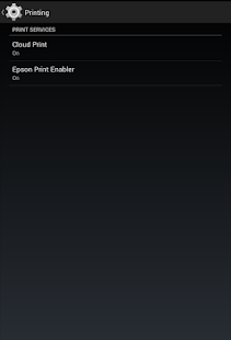 Epson Print Enabler- screenshot thumbnail