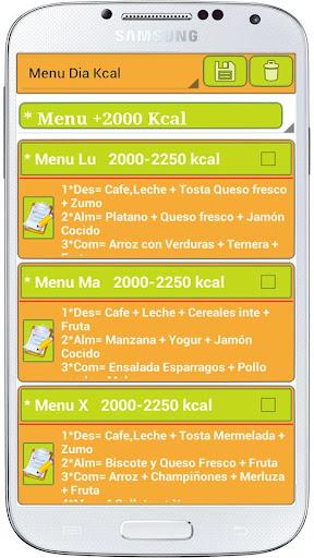 Dietas Diet Plan 2015 Calorias