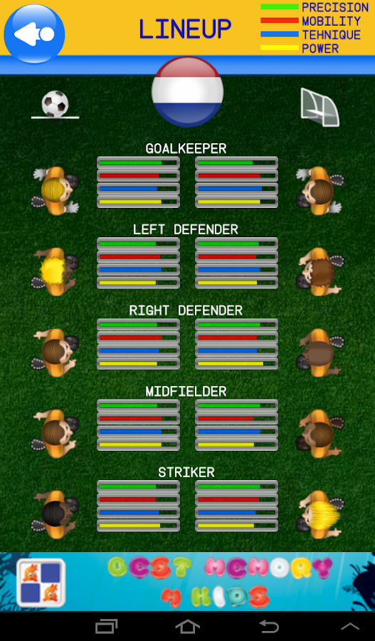 Fun Football World Cup soccer - screenshot