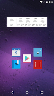 Versicolor - Icon Pack Screenshot