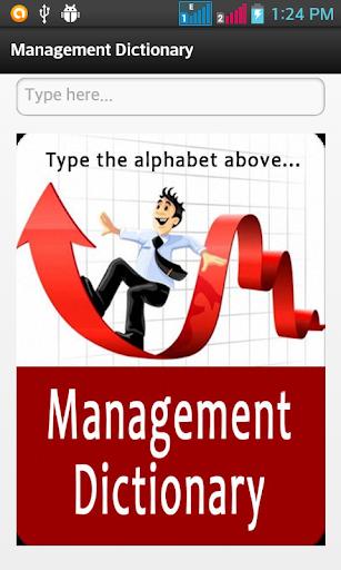 Management Dictionary