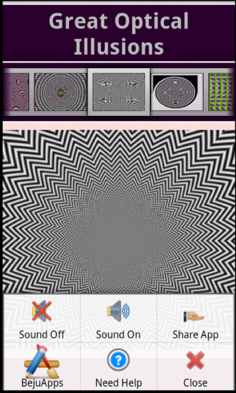 Great Optical Illusions - screenshot