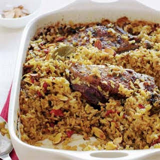 Arroz con Gansos o Patos (Rice with Geese or Ducks).