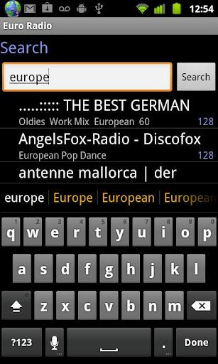 Euro Radio screenshot 6