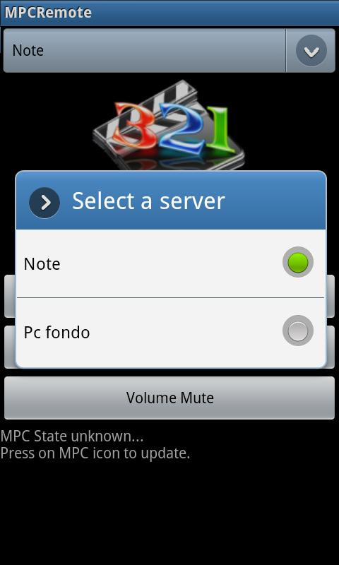 Kroma MPC Remote - screenshot