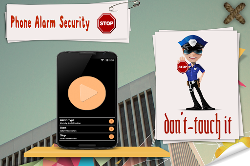 Phone Alarm Security:AntiTheft