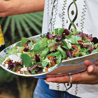 Lanny'S Salad with Candied Pumpkin Seeds Recipe