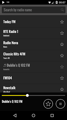 Radio Uruguay - screenshot