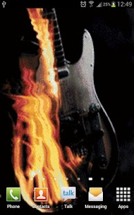 BurningGuitar - screenshot thumbnail