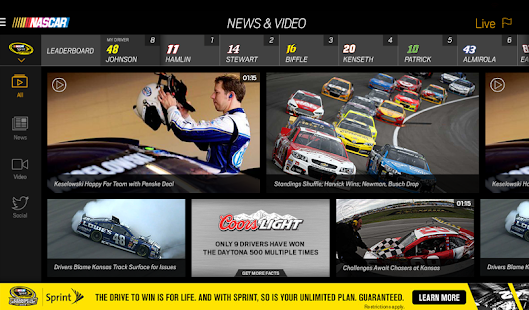NASCAR MOBILE - screenshot thumbnail