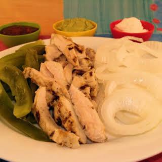 Grilled Chicken Fajita Wraps.