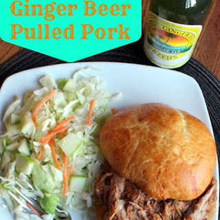 Crockpot Ginger Beer Pulled Pork