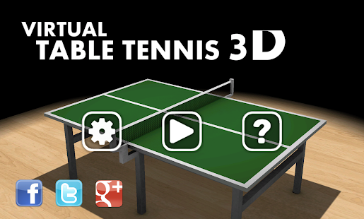 Virtual Table Tennis 3D Pro- screenshot thumbnail
