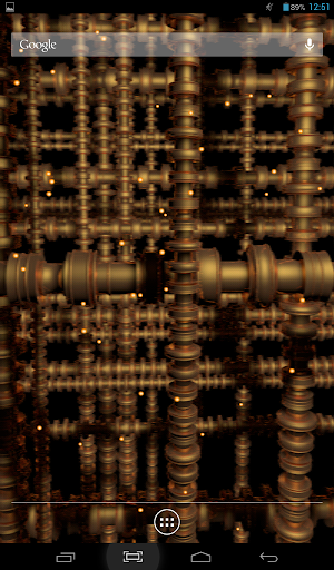 Golden Pipes Live Wallpaper