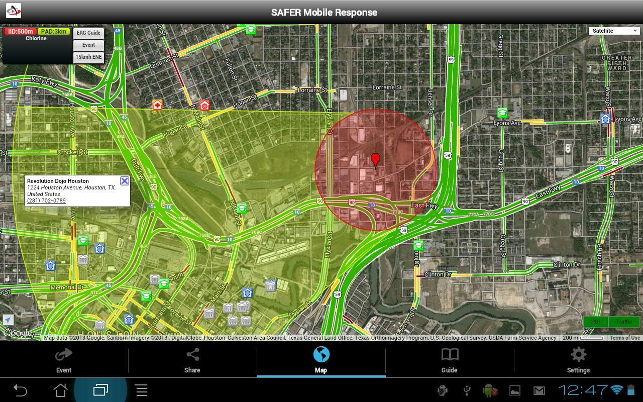 SAFER Mobile Response- screenshot