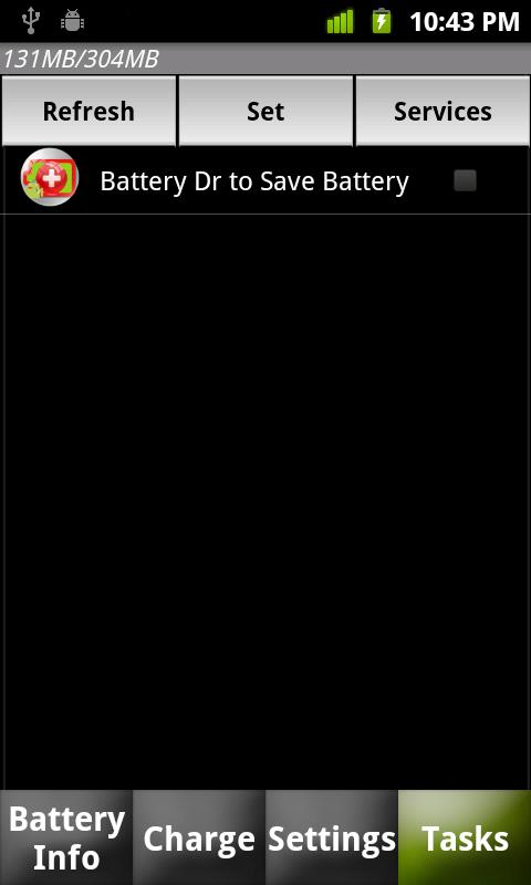 Battery Dr saver+a task killer - screenshot