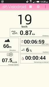 Velodroid GPS Bike Computer v2.8.0