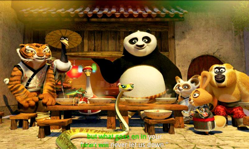 Kung Fu Panda Holiday - screenshot