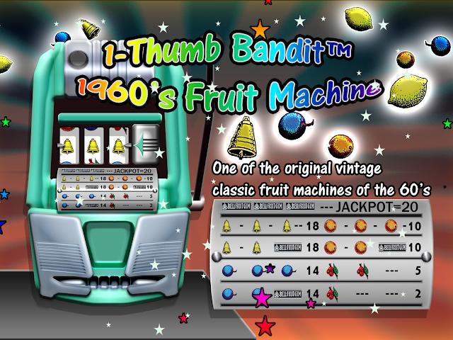 Screenshots for 1Thumb Bandit 60s Slots FREE