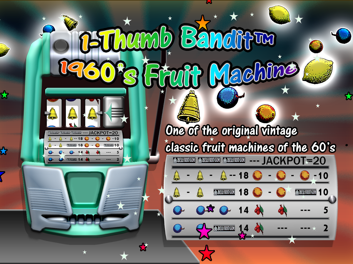 retro fruit machines