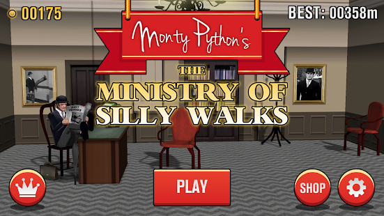 The Ministry of Silly Walks Screenshot 1